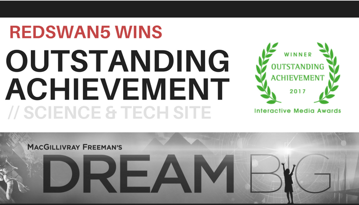 Dream Big Award Winning